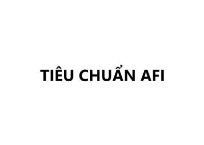 Tiêu Chuẩn AFI
